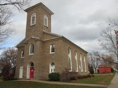 """12 St. Paul's Episcopal Church, 1816-1818."" as on the marker image. Click for full size."