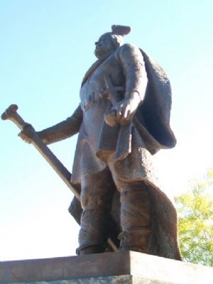 Leif Erikson Statue image. Click for full size.