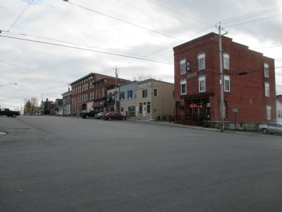 North End of Main Street at St. Lawrence Avenue image. Click for full size.