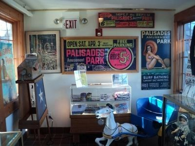 Palisades Amusement Park Exhibit Photo, Click for full size