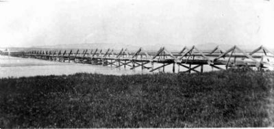 Camp Clarke Bridge image. Click for full size.
