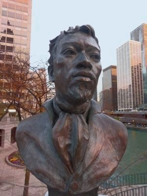 Jean-Baptiste Pointe DuSable image. Click for full size.