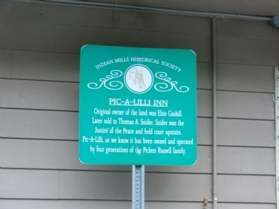 Pic-A-Lilli Inn Marker image. Click for full size.