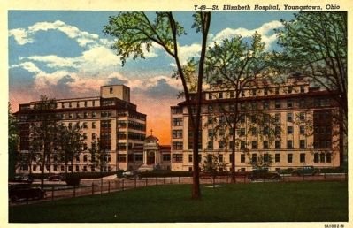 <i>St. Elizabeth Hospital, Youngstown, Ohio</i> image. Click for full size.