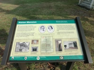 Atsion Mansion Marker image. Click for full size.