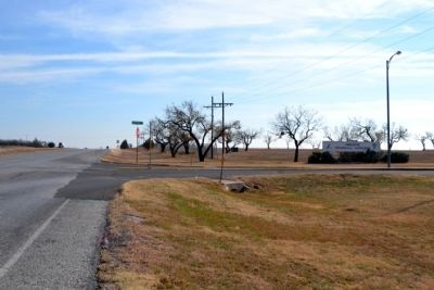 View to South Along State Highway 36,<br>The Texas 36th Division Memorial Highway image. Click for full size.