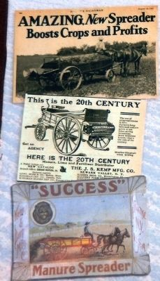 Spreading the Wealth Since 1900 Marker (<i>inset detail</i>) image. Click for full size.
