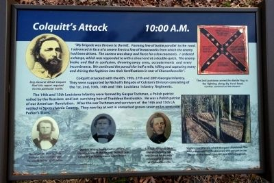 Colquitt's Attack Marker image. Click for full size.