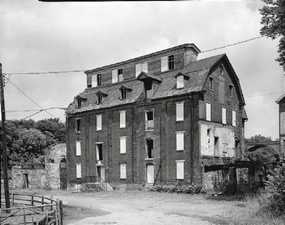 Luckenbach Mill - Awaiting Restoration image. Click for full size.