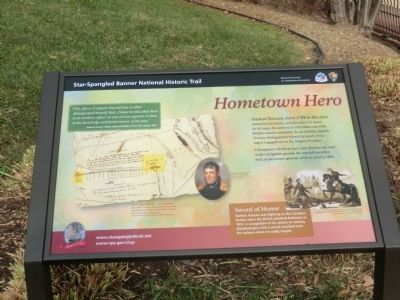 Hometown Hero Marker image. Click for full size.