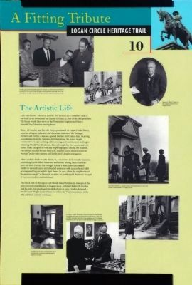 The Artistic Life Marker image. Click for full size.