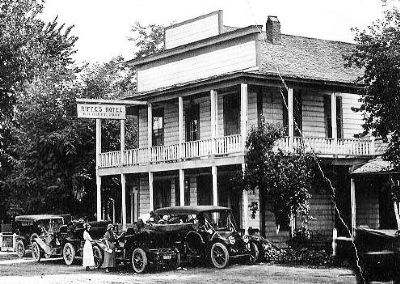 The Tallman Hotel in the 1920s image. Click for full size.