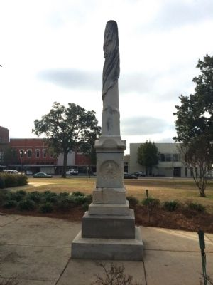 Civil War Monument (East Face) image. Click for full size.