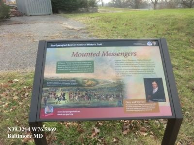 Mounted Messengers Marker image. Click for full size.
