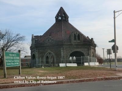 Clifton Park Valve House-National Register of Historic Places image. Click for full size.