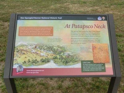 At Patapsco Neck Marker image. Click for full size.