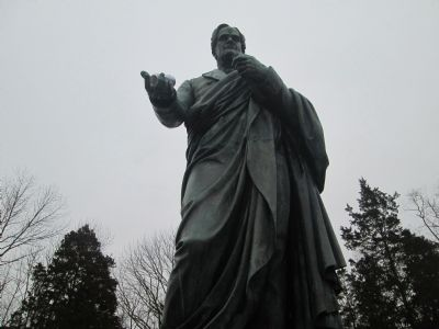 Horace Mann Statue image. Click for full size.