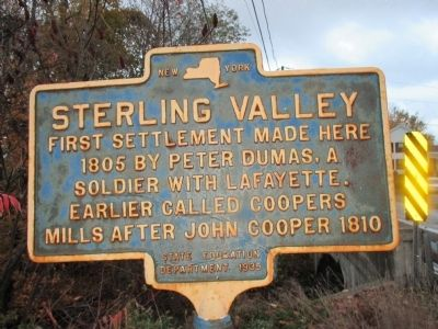 Sterling Valley Marker image. Click for full size.