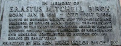 Erastus Mitchell Birch Memorial image. Click for full size.