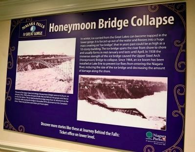Honeymoon Bridge Collapse Poster image. Click for full size.