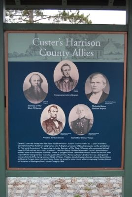 Custer's Harrison County Allies image. Click for full size.