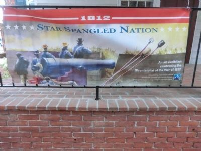 Banner at the Star-Spangled Banner Flag House image. Click for full size.