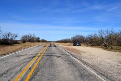 View to North Along FM 2228 image. Click for full size.