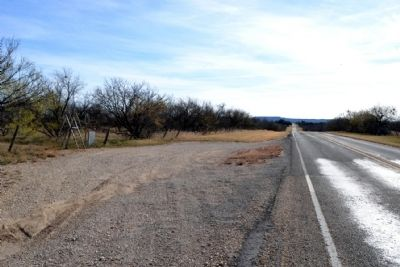View to South Along FM 2228 image. Click for full size.