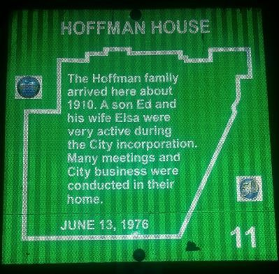 Hoffman House Marker image. Click for full size.