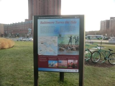 Baltimore Turns the Tide Marker image. Click for full size.