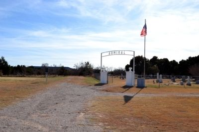 Admiral Cemetery Main Entrance image. Click for full size.