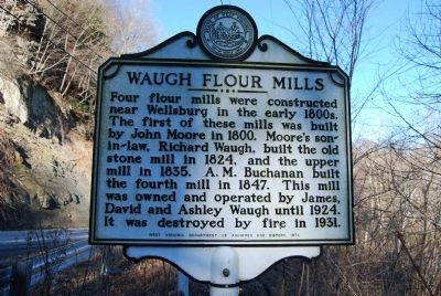 Waugh Flour Mills Marker image. Click for full size.