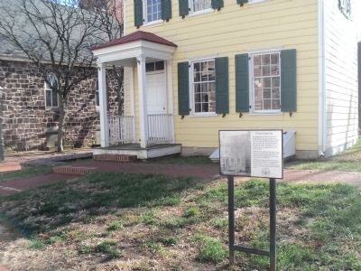 The Alexander Douglass House Marker image. Click for full size.
