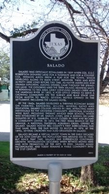 Salado Marker image. Click for full size.