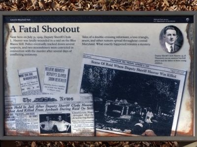 A Fatal Shootout Marker image. Click for full size.