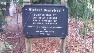 Linhart Homestead Marker image. Click for full size.