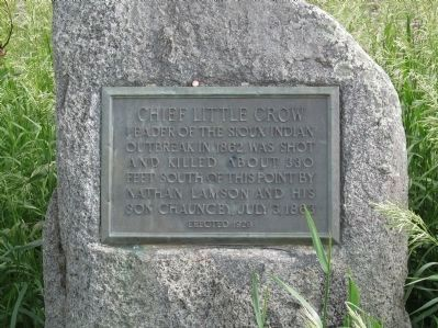 Chief Little Crow Marker image. Click for full size.