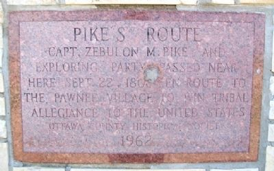 Pike's Route Marker image. Click for full size.