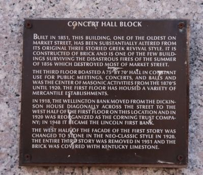 Concert Hall Block Marker image. Click for full size.