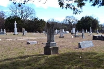 Grave Site of J.H. Yonley image. Click for full size.