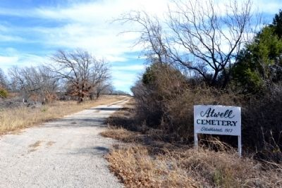 County Road 299 to Atwell Cemetery image. Click for full size.