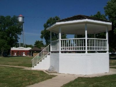Founding of LeRoy, Kansas Marker image. Click for full size.