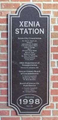 Xenia Station Marker image. Click for full size.