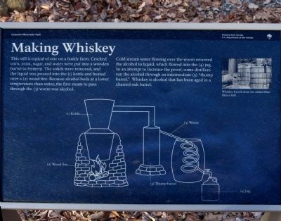Making Whiskey Marker image. Click for full size.