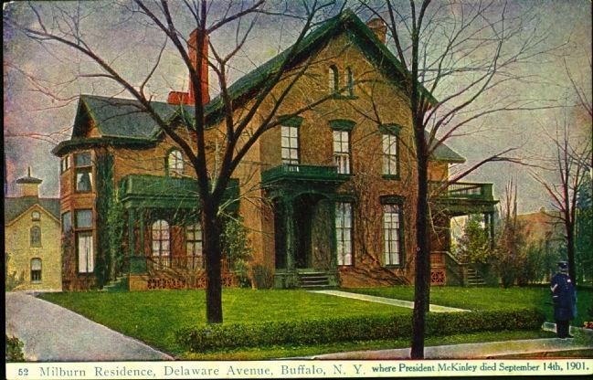 <i>Milburn Residence, Delaware Avenue, Buffalo, N.Y�.</i> Photo, Click for full size