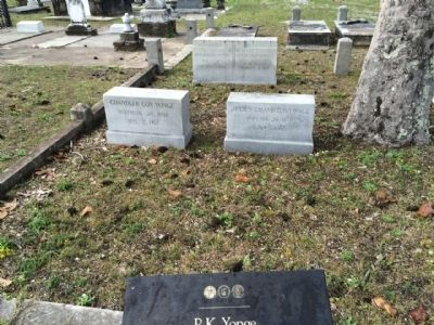 P.K. Yonge Marker & grave site image. Click for full size.