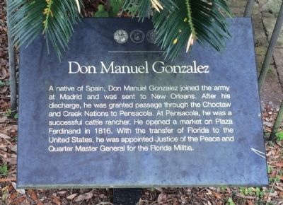 Don Manuel Gonzalez Marker image. Click for full size.