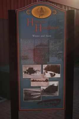 Historic Houghton Marker image. Click for full size.