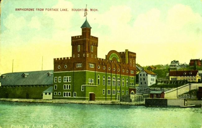 <i>Amphidrome from Portage Lake, Houghton, Mich.</i> image. Click for full size.