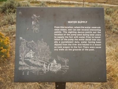 Water Supply Marker image. Click for full size.